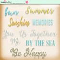 Lemon Top Digi Scrap Kit - word art, text, by the sea, sunshine