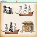 Lemon Top Digi Scrap Kit - pirates, treasure