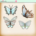 Lemon Top Digi Scrap Kit - butterflies