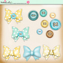 Lemon Top Digi Scrap Kit - buttons