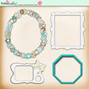 Lemon Top Digi Scrap Kit - frames