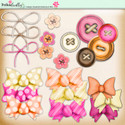 Tropical Sorbet download - buttons, bows,