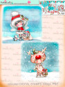 Winnie White Christmas Big Kahuna download including printable Winnie Coloured Toppers