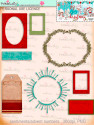 Winnie White Christmas Big Kahuna download including printable frames and tags