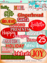 Winnie White Christmas printable designer sentiments and greetings