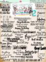 Winnie Celebrations 2 sentiments - digi scrap kit download digital stamps