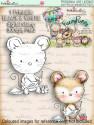 Maisie Mouse Sending Wishes - Fuzzypuffs digi stamp printable download