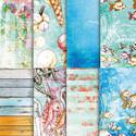 "Starfish & Sandcastles 6 x 6"" paper pack"