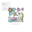 Fly with Me clear Stamp set )also available individually)