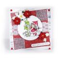 Birthday Tree- Winnie winter celebration digital papercrafting download