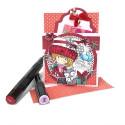 "Birthday Gifts- ""precoloured"" Winnie winter celebration digital papercrafting download"