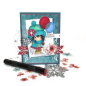 Winnie winter celebrations big bundle - digital papercrafting download