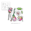 Bright & Breezy Collection - 20 Clear Polymer stamps