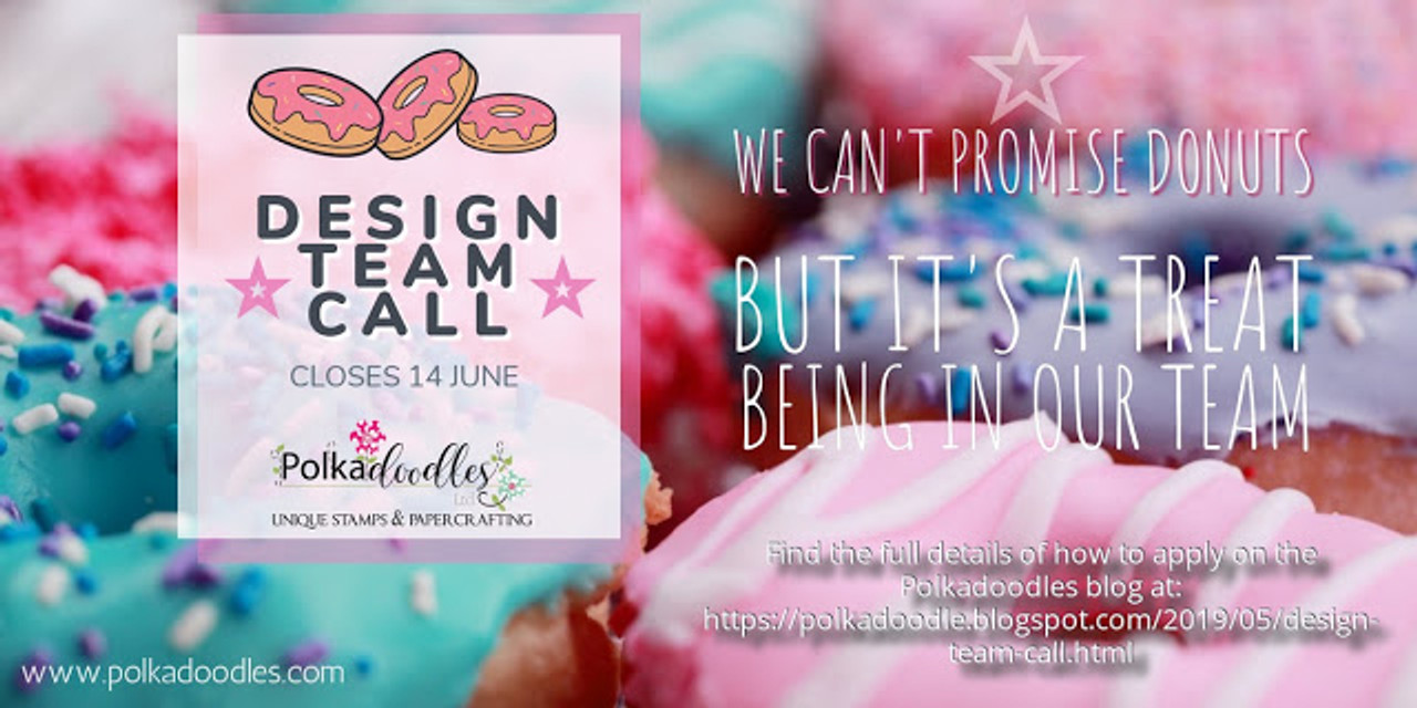 Are you a #Crafty Influencer? The Polkadoodles 2019 Design Team Call is open