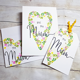 Video tutorial - Create a matching card, tag & envelope using NEW Mother's Sentiments clear stamps
