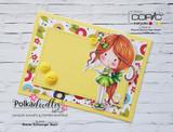 Make a Clean and Simple Card using Winnie Make a List stamp...