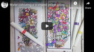 A great video tutorial using the Vintage Collage collection #polkadoodles