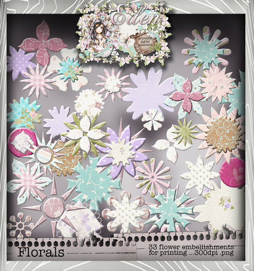 Eden Collection - Blooming Heaven Digital Craft Download Bundle