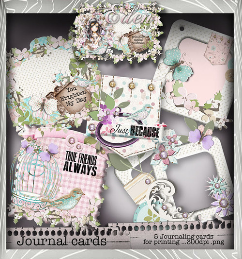 Eden Collection - Journal Heaven Digital Craft Download Bundle