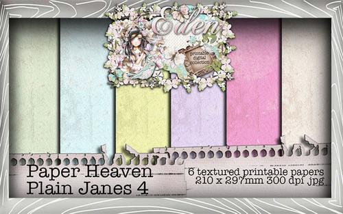 Eden - Paper Heaven Plain Jane 4 Digital Craft Download