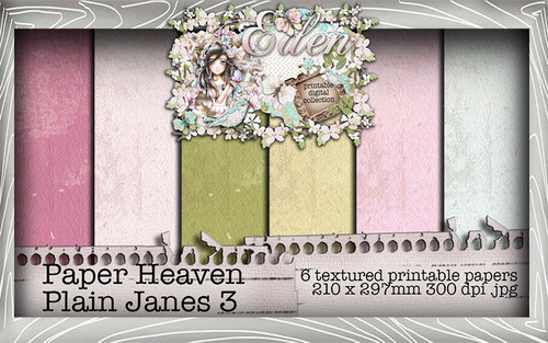 Eden - Paper Heaven Plain Jane 3 Digital Craft Download