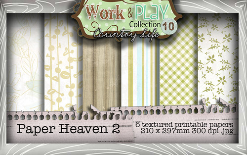 Work & Play 10 Collection - Paper Heaven 2 Digital Craft Download Bundle