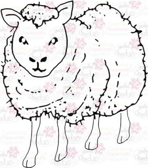 Sheep Digital Stamp - Digital Craft Download