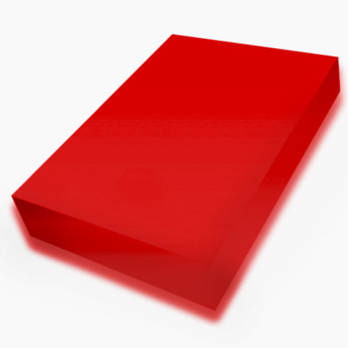 Red A4 smooth 225gsm cardstock