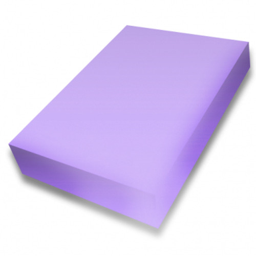 Lilac A4 smooth 225gsm cardstock
