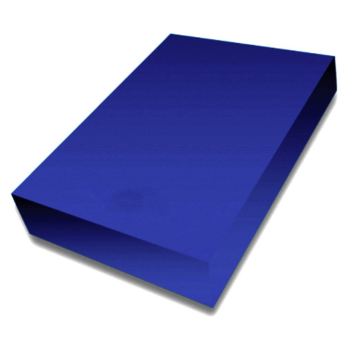 Navy A4 smooth 225gsm cardstock