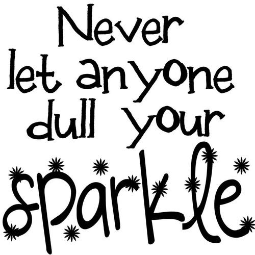 Sparkles - printable Digital Stamp free download