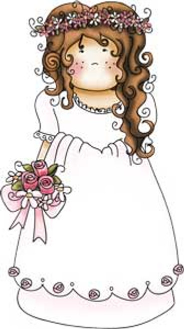 Here comes the Bride - Clear Polymer stamp