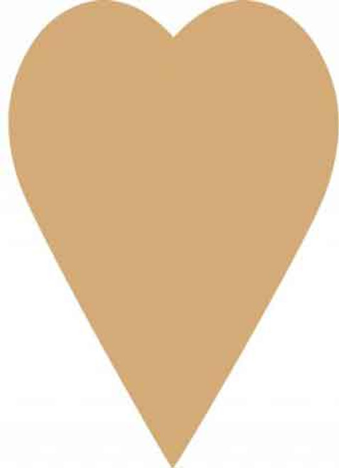 MDF Large Heart