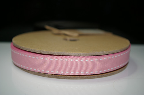 East of India ribbon 1m - Pink Stitch