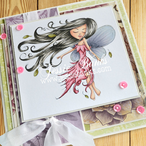 Serenity Fairy Earthstar - Digital Craft Stamp download