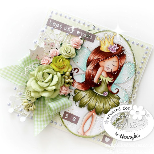 Serenity Fairy Princess - Digital Craft Stamp download
