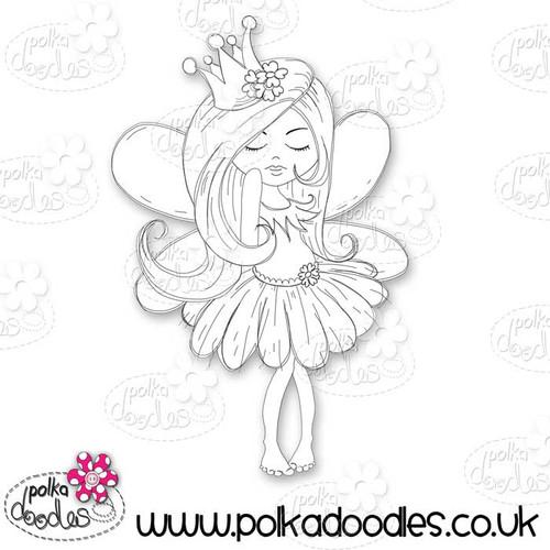 Serenity Fairy Princess - Digital Craft Stamp download