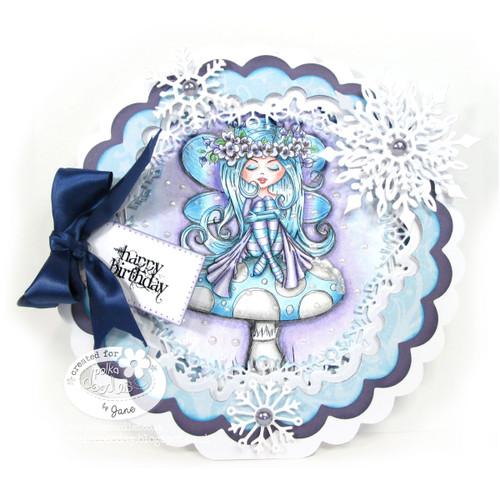 Serenity Fairy Resting - Digital Craft Stamp download
