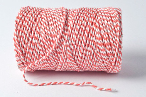 Bakers Twine x 5m Strawberry
