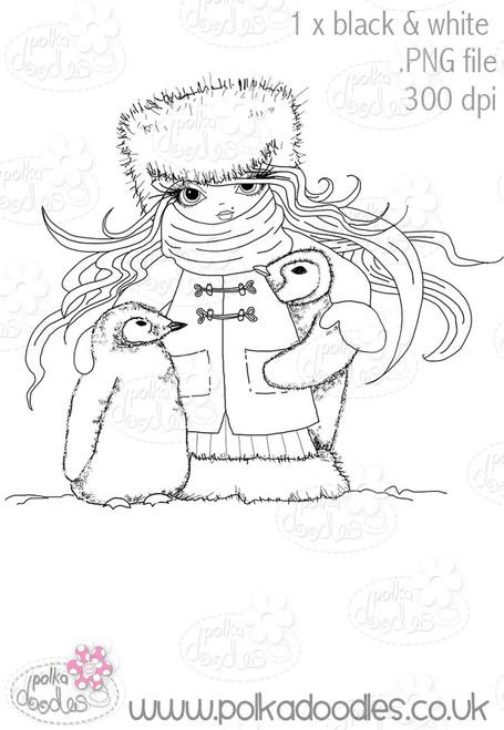Frosty Penguins - Octavia Frosted Winter - Digital CRAFT Download