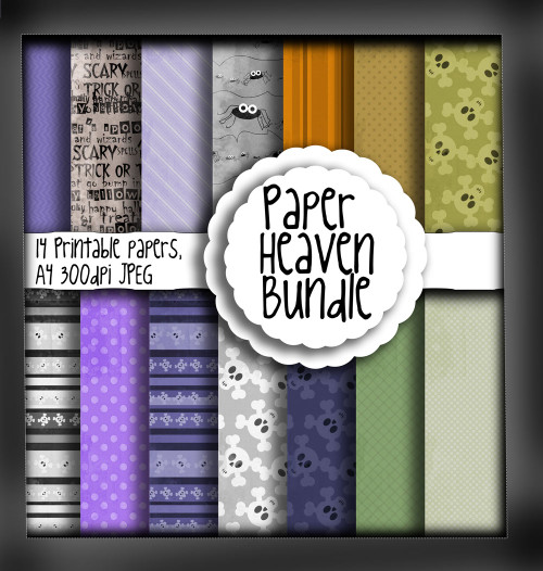 Halloween/Autumn Paper Heaven 2 - digital download bundle
