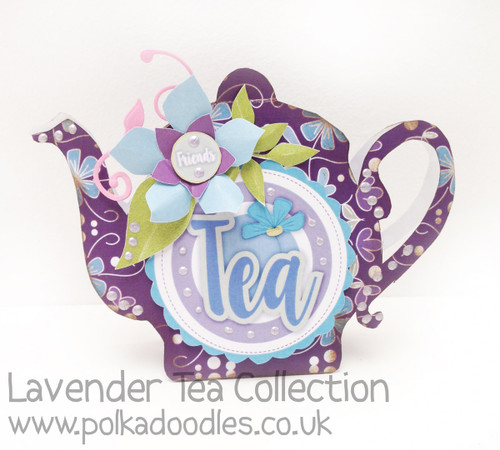 Lavender Tea - Printable Download Collection inc project templates
