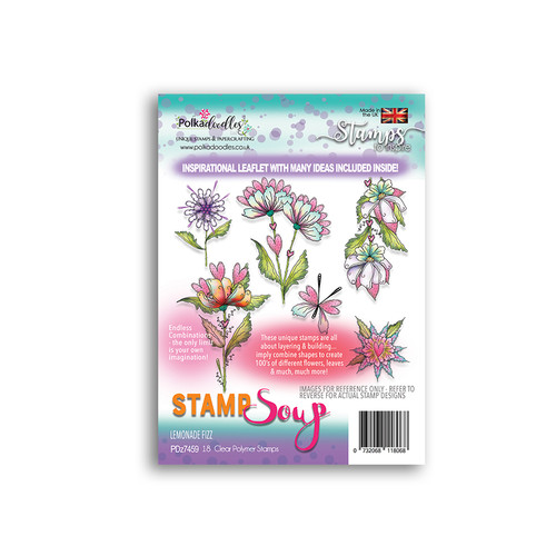 Stamp Soup - Lemonade Fizz Polymer Clear Polymer Stamp Collection