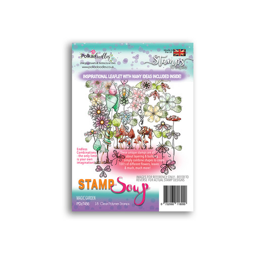 Stamp Soup - Magic Garden Stamp Set