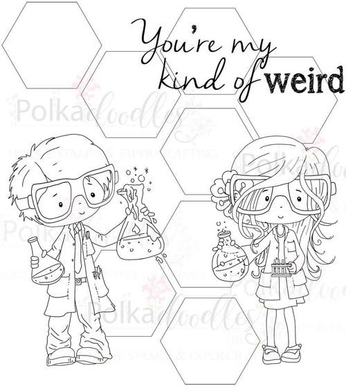 You're Weird Digital Stamp Craft download