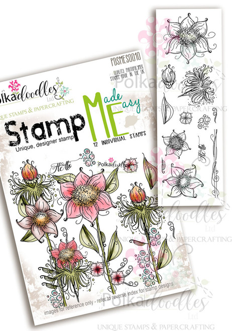 Summertime - Stamp ME clear stamp set