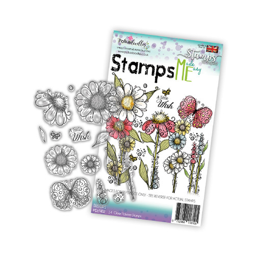 Daisydays - Stamp ME clear stamp set