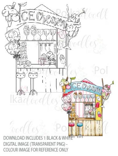 Winnie Starfish/Sandcastles - Ice Cream/Food/Beach Kiosk/Shop/store  DOWNLOAD