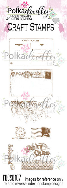 Wish you were here Clear Stamp set