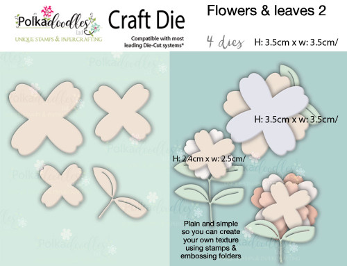Flowers 2 - Craft cutting die